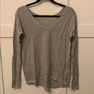 Size 4 reversible lululemon long sleeve